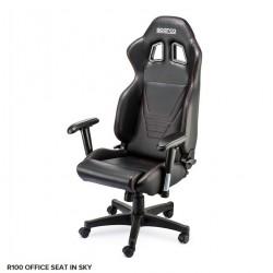 Cadeira Escritório SPARCO R100 SKY BLACK