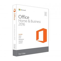 Office Mac Home Business 1PK 2016 PT