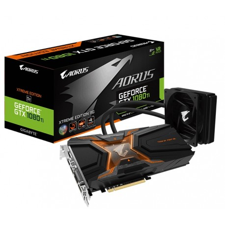 AORUS GTX 1080 TI WATERFORCE XTREME