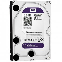 WD PURPLE 6TB 64Mb SATA3
